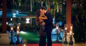 Kristina hat Daniels Herz erobert und zeigt mit einem innigen Kuss ihre Freude über seine Entscheidung. (Foto: MG RTL D)