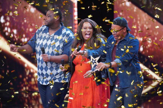 V.l.: Darell Haynes, Sarah Elisabeth Cole und Frank Odjidja (Foto: MG RTL D / Stefan Gregorowius)