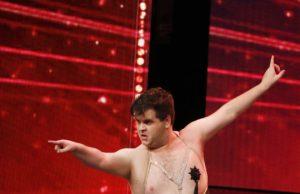 Trigger Happy - Burlesque Tänzer aus Australien. (Foto: MG RTL D / Morris Mac Matzen)