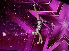 Ameli Bilyk - Hula-Hoop-Akrobatin auf dem Schlappseil aus der Ukraine. (Foto: MG RTL D / Morris Mac Matzen)