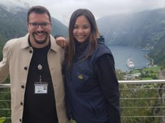 Dominik Wachta nutzte die Auszeit von der Modelbranche um u.a. als Tour-Guide die Welt zu bereisen. (c) privat